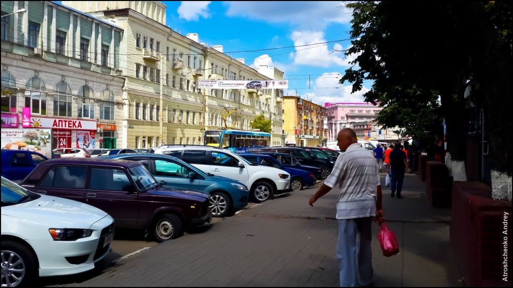 Нижний Новгород. Нижняя часть города: фото
