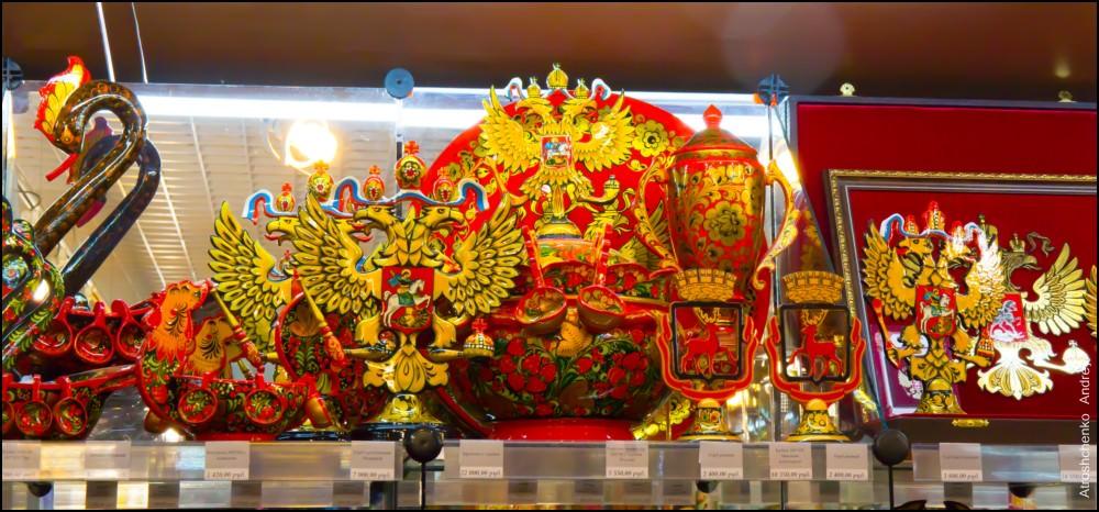 русский сувенир - фото