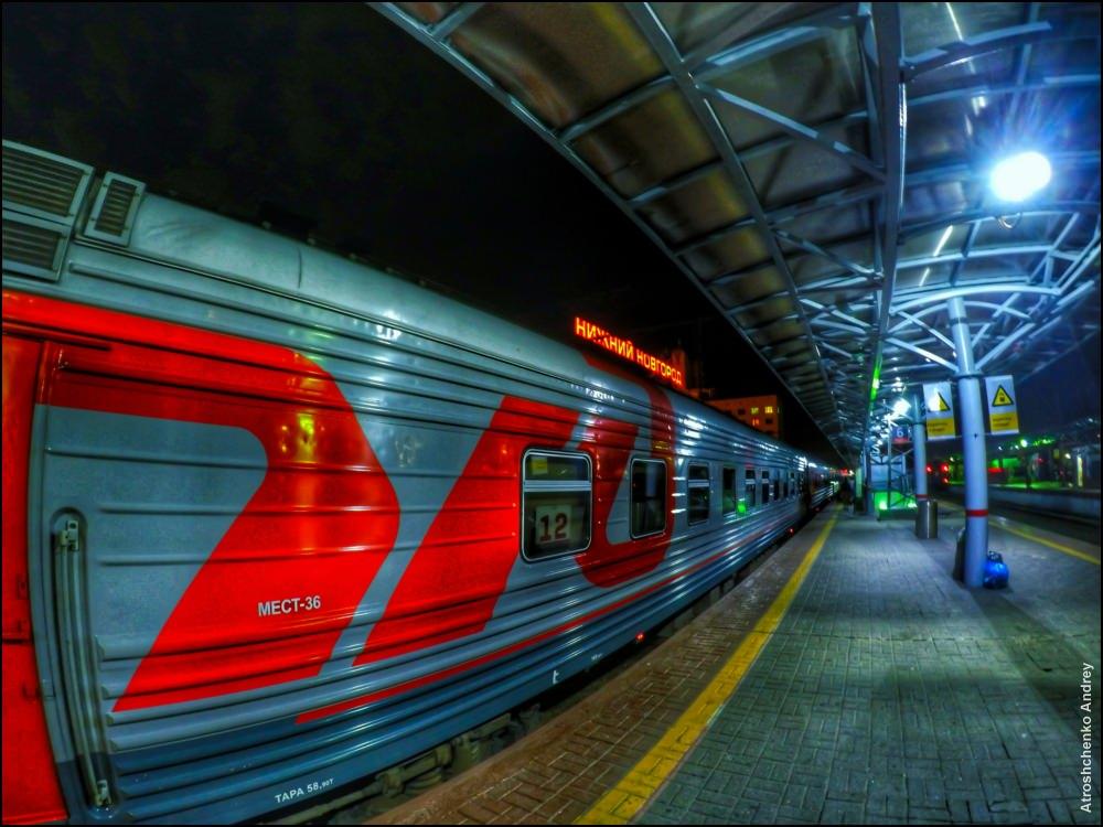 поезд нижегородец фото