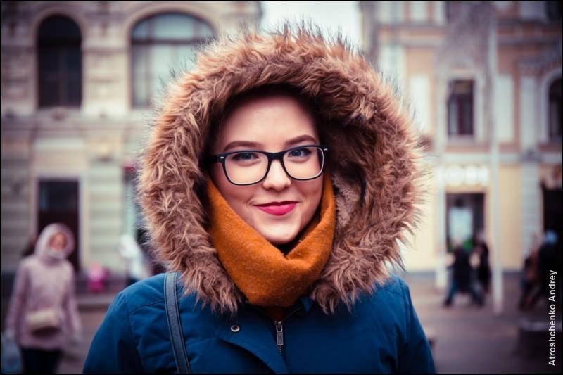 портреты москвичей - мария