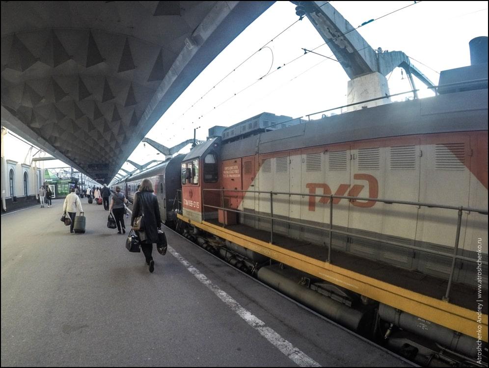 Поезд «Волга» из Санкт-Петербурга в Нижний-Новгород