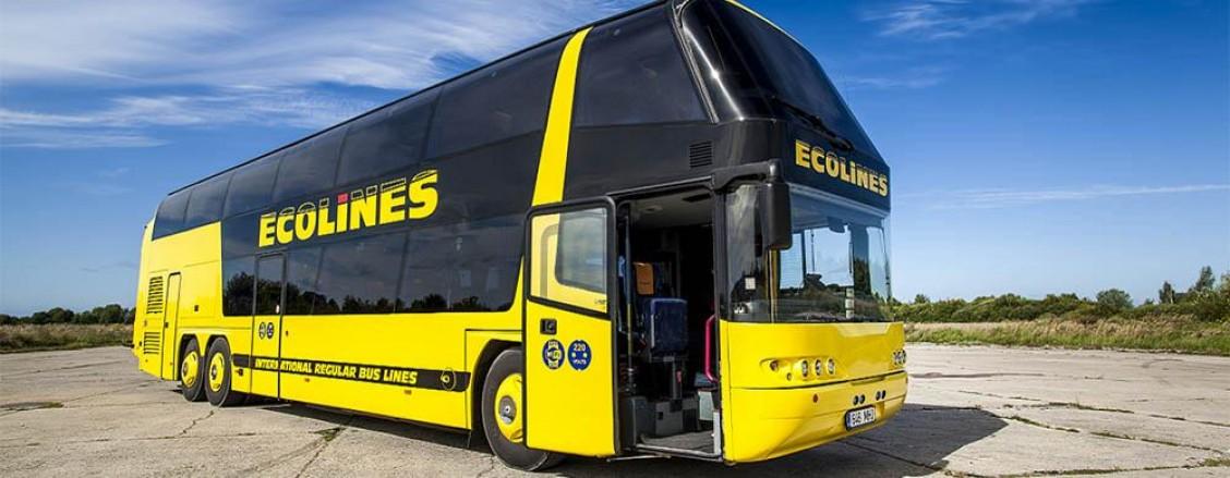Из Москвы в Минск автобусом Ecolines