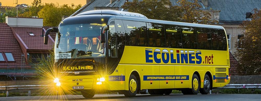На автобусе Ecolines из Москвы в Минск