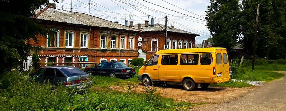 Тихий город Богородск Нижегородской области. Фото Богородска.