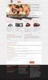 Сайт автошколы в Белоруссии на джумле